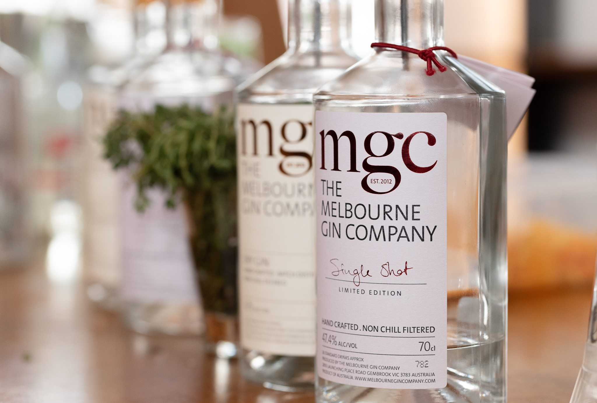 The Melbourne Gin Company's unusual Gin & Wine Lunch